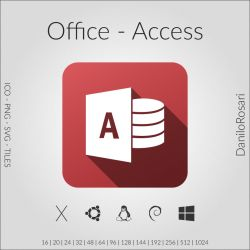 Office (Access) - Icon Pack by DaniloRosari