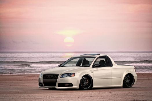 Audi RS4 UTE tuned by tebidesign