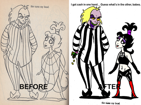 Don't Give Me Coloring Books of OTP by Kabuki-Sohma