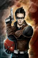 Jason Todd is the Red Hood by jpzilla