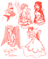 Paper Youth - Fairy Tales AU by amiriteC