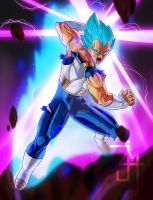 Vegeta SSJBlue by JI4M