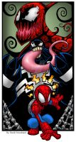Spidey Sense Tingling by badgerlordstudios