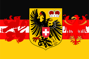 Flag of German language by hosmich