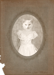 Victorian Portraits: Marie Jane Whiskers by Violet-kill