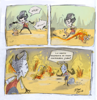Don't Starve Together - piromania by Dark-Clefita