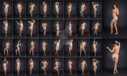 Stock: Nathalia Art Nude Standing - 34 Images by stockphotosource