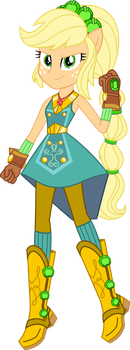 Legend of Everfree: Crystal Power Applejack by ImperfectXIII