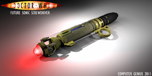 Future Sonic Screwdriver by ComputerGenius