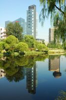 Beijing In The Mirror by SniperOfSiberia