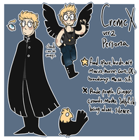 Persona ref (2016) by CremexButter
