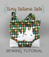 Sewing Tutorial: The Tiny Totoro Tote by SewDesuNe