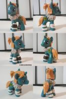 Dragon Age 2 Anders Pony by ChibiSilverWings