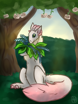 tree cubes by DancingFerret