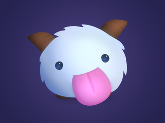 It's a Poro! by Pixel-Sage