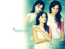 Wallpaper Angelina Jolie by Littlenutsy