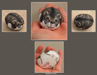 Hamster Stone by wolfysilver