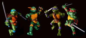 TMNT Classics - Turtles in Time by 0PT1C5