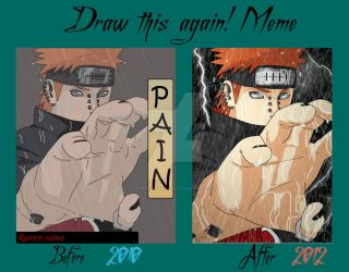 Before - After Meme Pain by TheRavenSama