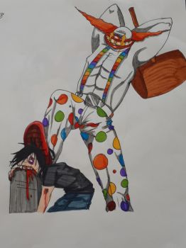 Clown Tombstone stomp by TigerLove566