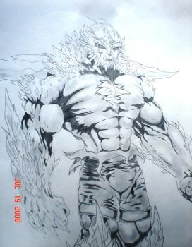 Dooms day in pencil by BryanRocco
