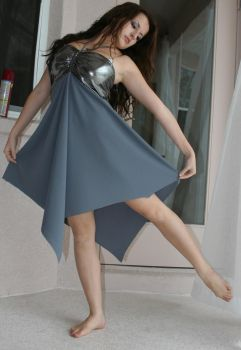 Grey Silver dress II by savung-stock