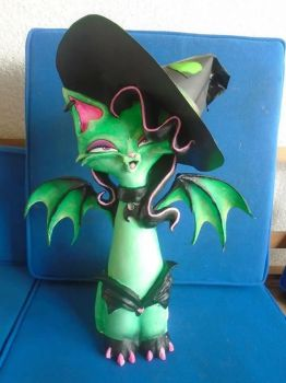Elphaba Cat by JOPUTAPELIRROJO