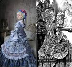 Opera (Thores art) - Milian Carestia side by side by ElenaLeetah