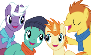 Vector #476 - As Our Mighty Voices Carry by DashieSparkle