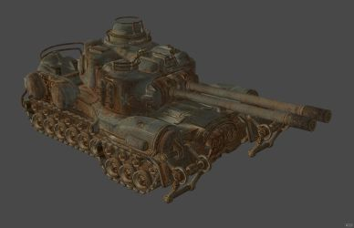 'Fallout 4' Tank XPS ONLY!!! by lezisell