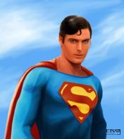 Superman - Christopher Reeve by EinarIIM