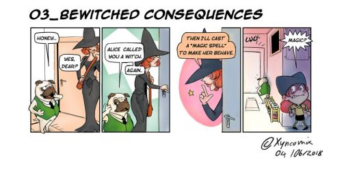 Alice Dee_Bewitched consequences! by Xyncomix