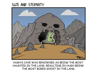 Haunted Cave by Size-And-Stupidity