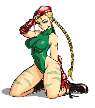 Cammy fanart by luigiix