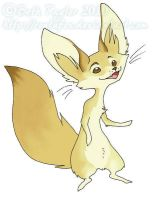 A Fennec Fox by rontufox