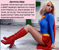 Gemma Hiles as Supergirl by McGheeny