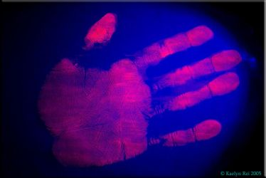 Roswell Handprint by Roswell-Club