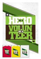 Be a Hero. Be a Volunteer. by capiogwapo