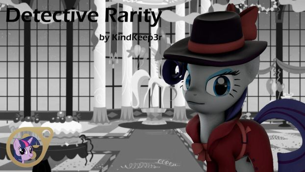 (DL) Detective Rarity by KindKeep3r