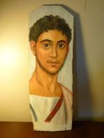Fayum Portrait 2 by dashinvaine