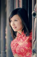 Chinese Traditional Dress by juztin-le