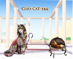 CLEO CAT TRA by ulyferal