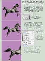 Mane and Tail Tutorial Part 1 by almondjoyy5