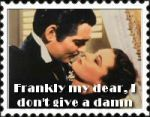 Gone with the wind stamp by DanBoldy