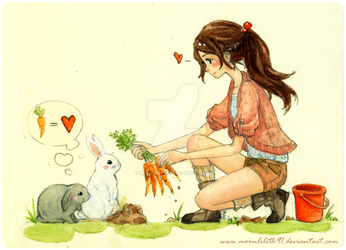 :Bunnies: by Moonlilith91
