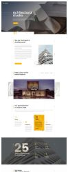 Unique Architecture and Interior PSD Template by premiumjungle