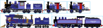 The Cronk Forest/Timber Mill Company Locomotives by Galaxy-Afro