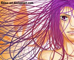 Colored hairs colo15 by Akina-art