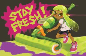 Stay Fresh! by manreeree