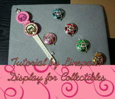 Collectible Display Tutorial by PaulineFrench
